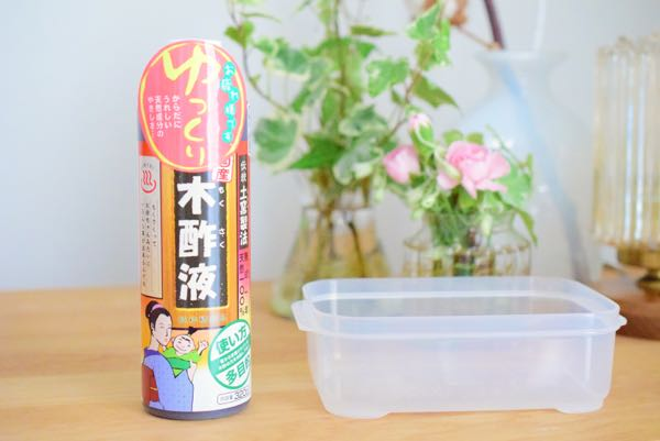 夏のベランダ、虫除けハチ除けに木酢液を買いました[日常]