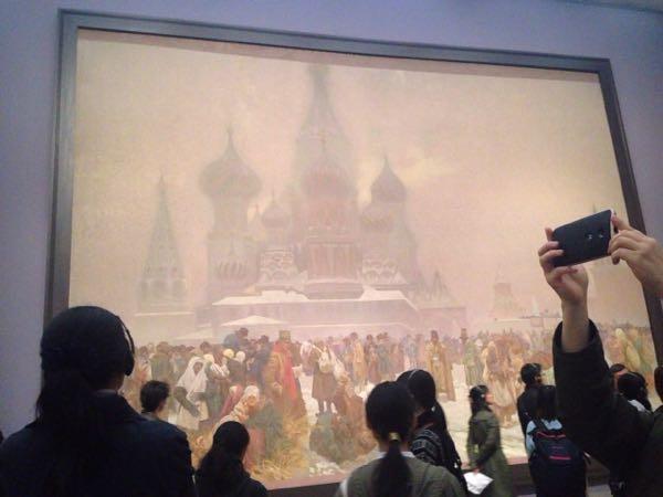 「ミュシャ展」を観に行ってきました。2017.3.8〜国立新美術館にて開催中。