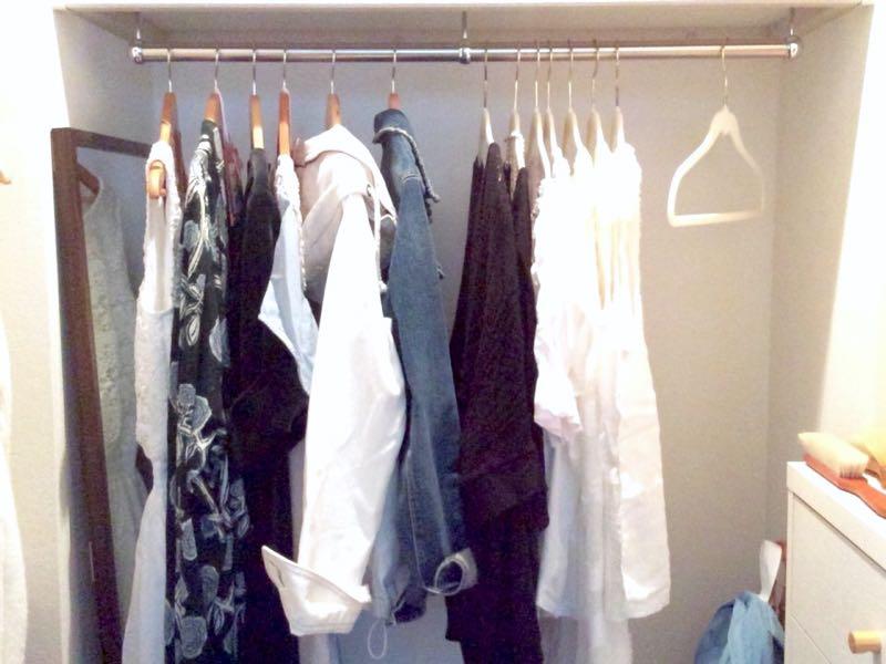 大好きな服だけを並べていく心地よさ。[ライフオーガナイズ]