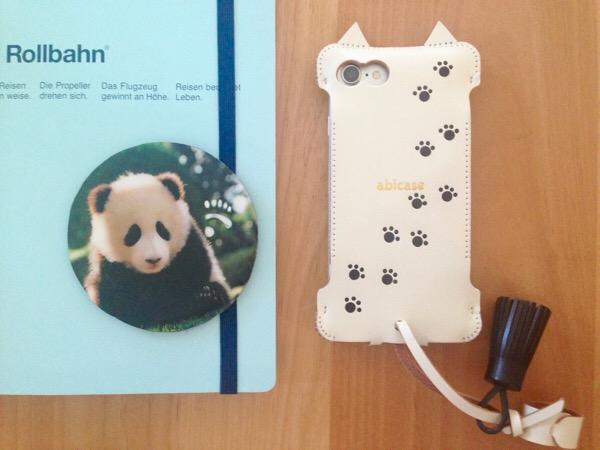 abicase(アビケース)購入!iPhone7 猫型ジャケットが可愛くて機能的。