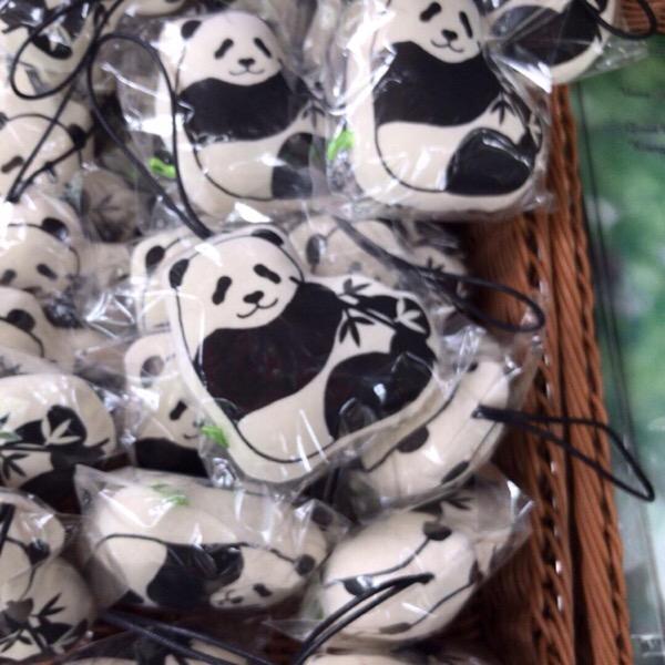 上野動物園オリジナルパンダグッズ。新商品はTシャツとマスコット!30/100blogs